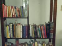 Books for sale, BOOK CASE ALSO FOR SALE.  I am