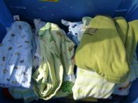 Sleepers- (sizes: Newborn- 12 months) $3.00 each or (3)