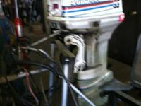 REPOWER TAKE OFF. HAS POWERHEAD PROBLEMS. 1978 EVINRUDE