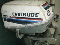 EVEINRUDE SERIES 6 BOAT MOTOR FOR SALE IN GOOD