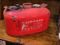 Evinrude Boat Gas Fuel Tank      Get there 1st and