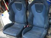 complete set of seats just need cleaned off no rips or