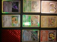 I have all 5 of the Eevee evolution pokemon cards. I