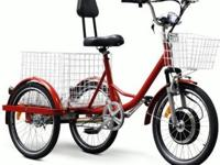 The New EW88L Electric Trike Bicycle Moped With 450