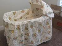 This is not the normal small size bassinet but is extra