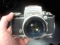 This was my grandfathers camera. Exakta VX IIa used but
