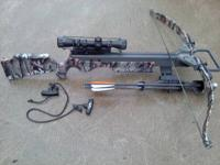 Excalibur Phoenix crossbow, like new only been shot 10
