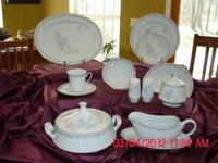 Illusions fine china dinnerware eight piece place