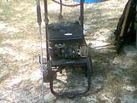 I have a excell 3500 pressure washer runs good but the