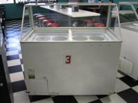 Excellence EDC-8 Ice Cream dipping cabinet with