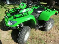 New Condt. - ATV 4X4 Arctic Cat 2008 Liquid Cooled,