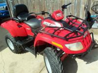 Very Nice - {{07-Arctic Cat, 650cc ATV 4X4 Liquid