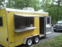 I have a 2007 custom built concession trailer loaded