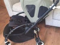 Excellent condition black bugaboo bee 3 bought from new