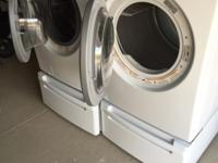We have recently upgraded to a larger capacity Washer &