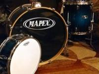 Hello fellow drummer! I'm offering my 5 piece Mapex Pro