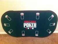 For sale is an excellent condition poker table cover