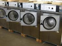 Wascomat Front Load Washer W125 3PH Stainless Steel.