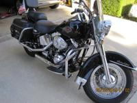 2001 Heritage softail classic with 14000. pls miles