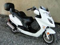 2008 Kymco Grand Vista 250. Excellent running scooter