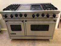 "Viking dual fuel 48"" Range (Model # VDSC485-4GQSS ) - 4"
