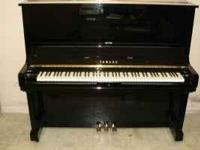 Excellent condition Yamaha Upright U3 Piano. Bought new
