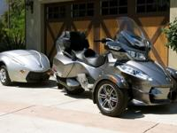 Secondly, having three wheels makes the Can Am Spyder