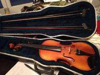 I have a R Becker violin for sale it features 2 bows