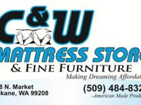 Mattresses start as low as $99.99.  As well typically