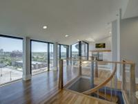This exceptional double penthouse located in Atlanta's