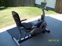 Exercise Bike like new. Used very little. Like new