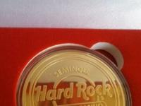 Gold Hard Rock Tampa coin set exclusively issued to
