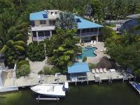 Stunning home with protected dockage on a tranquil