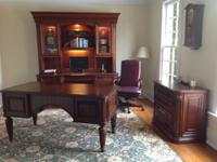 Hooker furniture, European Elegance, hardwood with