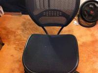 This is an Office Star executive office chair with mesh