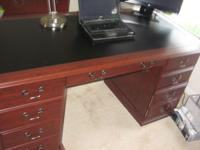 For Sale is an Executive Office Desk set from Office