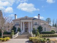 Executive home with Chattahoochee River frontage in the