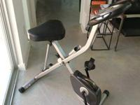 Selling really quiet stationary bicycle, has adjustable