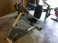 Almost new Exercise Bike. Sells for over $300 new. Call