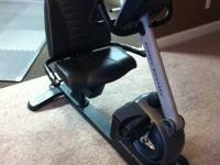 Pro Forma excercise bike. Digital screen, video games