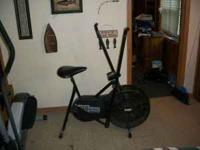 For Sale Fan Style Exercise Bike $25.00 The electronics