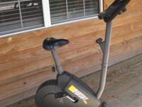 Exercise Bike, $50 Cash Only.