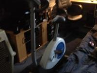 Weslo Electronic Stationary bicycle ... takes rhythm