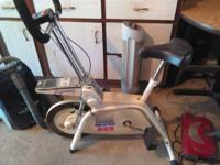 Exercise bike ProStyle 525. Made in Finland. Vintage
