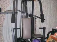 Gym set has all weights & bars. In great condition and
