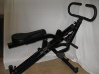 POWER RIDER EXERCISE BIKE The Power Rider. Works all of