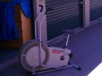 Exercise bike and glider for sale. exercise bike - $50