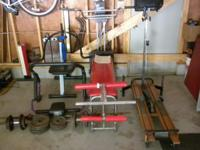 I HAVE SEVERAL PIECES OF EXERCISE EQUIPMENT FOR SALE: