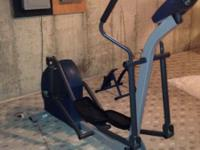 A elliptical and universal machine. Gently used and