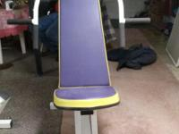 I HAVE 7 PCS OF EXERCISE EQUIPMENT FOR SALE.ALL IN